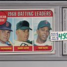 CARL YASTRZEMSKI 1969 BATTING LEADERS GRADED FGS 10!!!