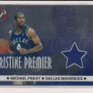 MICHAEL FINLEY MAVERICKS 2001-02 TOPPS PRISTINE PREMIER ALL STAR WARM UP
