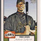 FRED LEWIS GIANTS 2007 TOPPS 52 ROOKIE CARD