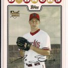 MAX SCHERZER DIAMONDBACKS 2008 TOPPS ROOKIE CARD