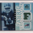 ROSCOE PARRISH BILLS 2005 REFLECTIONS FUTURE FABRIC JERSEY CARD
