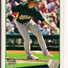 BRETT ANDERSON A'S 2009 TOPPS ROOKIE CARD