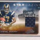 DONNIE AVERY RAMS 2008 ABSOLUTE STARGAZING ROOKIE JERSEY CARD #'D 065/250!