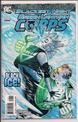 GREEN LANTERN CORPS #46A (2010) BLACKEST NIGHT
