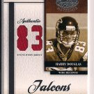 HARRY DOUGLAS FALCONS 2008 LEAF CERTIFIED JERSEY #'D 32/83!!!