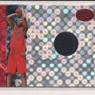 CHARLIE VILLANUEVA RAPTORS 2006-07 BOWMAN ELEVATION JERSEY #'D 33/49!