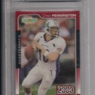 CHAD PENNINGTON JETS 2000 SCORE ROOKIE CARD GRADED BECKETT