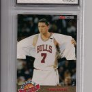 TONI KUKOC BULLS 1993 HOOPS ALL ROOKIE TEAM GRADED FGS 10!