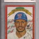 RUBEN SIERRA 1990 DONRUSS DIAMOND KINGS GRADED BCCG 9!