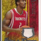 LUTHER HEAD ROCKETS 2007-08 ULTRA HEIR TO THE THRONE RELIC JERSEY
