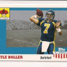 KYLE BOLLER 2003 TOPPS ALL AMERICAN ROOKIE CARD