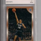 PREDRAG STOJAKOVIC 1998-99 TOPPS ROOKIE GRADED BCCG 9!