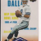 TROY AIKMAN COWBOYS 1996 CLASSIC CLEAR ASSETS CARD