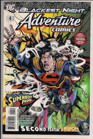 ADVENTURE COMICS #4 (2010) BLACKEST NIGHT