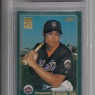 TSUYOSHI SHINJO 2001 TOPPS ROOKIE GRADED BECKET 8.5!