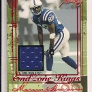 MARVIN HARRISON COLTS 2004 FLEER END ZONE KINGS JERSEY CARD