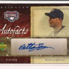 BELTRAN PEREZ NATIONALS 2007 UPPER DECK AUTOFACTS AUTO CARD