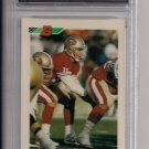 STEVE BONO 49ER'S 1992 BOWMAN RC GRADED FGS 10!