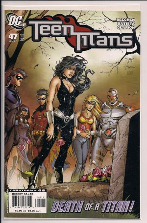 TEEN TITANS #47 (2007) DEATH OF A TITAN!