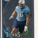 DERRICK MORGAN TITANS 2010 TOPPS CHROME RC