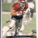 JUSTIN FARGAS RAIDERS 2003 FLEER ULTRA RC
