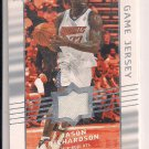 JASON RICHARDSON BOBCATS 2008-09 UPPER DECK JERSEY CARD