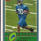 CHARLES ROGERS LIONS 2003 TOPPS RC