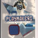 MARVIN HARRISON COLTS 2004 FLEER SHOWCASE PATCH CARD #'D 099/121!