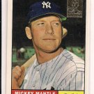 MICKEY MANTLE YANKEES 2006 TOPPS COMMEMORATIVE CARD