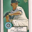 MARK LOWE MARINERS 2006 TOPPS 52 RC
