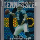 STEVE MCNAIR TITANS 2004 TOPPS FINEST GOLD REFRACTOR UNCIRCULATED #'D 022/150!
