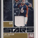 JAY CUTLER 2009 DONRUSS ELITE STARS JERSEY CARD