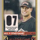 MATT HOLLIDAY ROCKIES 2007 TOPPS ALL STAR STITCHES JERSEY