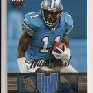 ROY WILLIAMS LIONS 2007 FLEER ULTRA STARS JERSEY