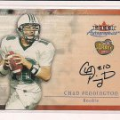 CHAD PENNINGTON JETS 2000 FLEER AUTOGRAPHICS RC