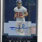 JAMAAR TAYLOR GIANTS 2004 BOWMAN CHROME RC AUTO