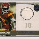 DAMIAN WILLAIMS USC 2010 PRESSPASS RC JERSEY