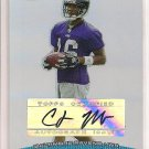 CLARENCE MOORE RAVENS 2004 BOWMAN'S BEST RC AUTO