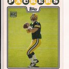 BRIAN BROHM PACKERS 2008 TOPPS RC