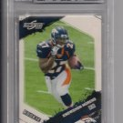KNOWSHON MORENO 2010 SCORE ROOKIE CARD GRADED BECKETT 9