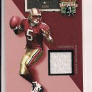 JEFF GARCIA 49ER'S 2002 FLAIR JERSEY HEIGHTS JERSEY CARD