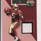JEFF GARCIA 49ER'S 2002 FLAIR JERSEY HEIGHTS JERSEY CARD