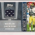 MARLIN JACKSON WOLVERINES 2005 TOPPS DP&P JERSEY