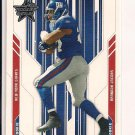 BRANDON JACOBS GIANTS 2005 LEAF R&S RC
