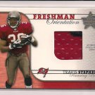 TRAVIS STEPHENS BUCCANEERS 2002 LEAF R&S FRESHMAN JERSEY