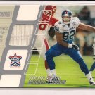 MICHAEL STRAHAN GIANTS 2002 TOPPS STADIUM CLUB PRO BOWL JSY