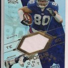 JEREMY SHOCKEY GIANTS 2004 UD REFLECTIONS FOTF JERSEY