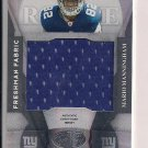 MARIO MANNINGHAM GIANTS 2008 LEAF CERTIFIED FRESHMAN RC JERSEY
