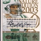BROOKS BOLLINGER JETS 2003 SP SIGNATURE RC AUTO