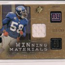 ANTONIO PIERCE GIANTS 2009 SPX WINNING MATERIALS JERSEY